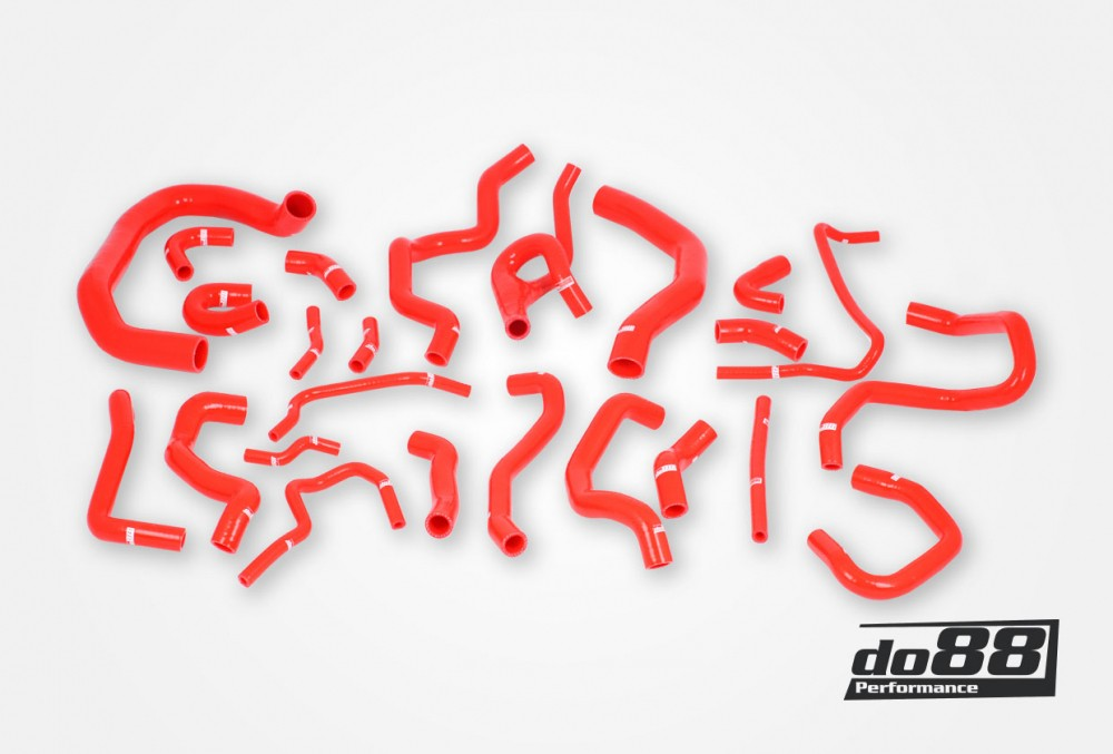 Coolant Hoses Red. Hersteller Produkt Nummer: do88-kit187R